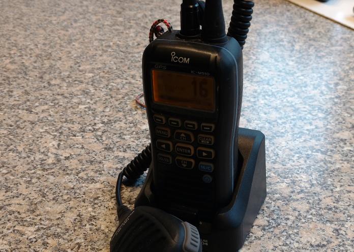 Håndholdt VHF radio