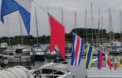 Signalflag i brug